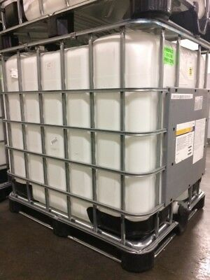 Plastic Barrels and Totes for storage.