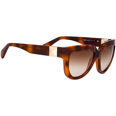 19470eaedcee Valentino Acetate Frame Brown Gradient Lens Ladies Sunglasses V694S21456