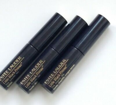 3x Estee Lauder Little Black Primer Mascara Tint Amplify Set 2.8 ml Each New