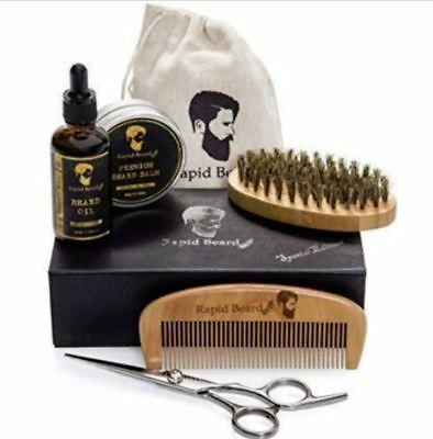 Beard Grooming & Trimming Care Kit Rapid Beard Special Edition Set Travel Kit