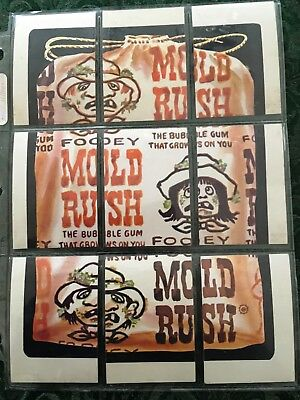 Wacky Packages Complete Series 6 Checklist Puzzle Set - Mold Rush
