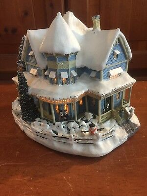 Hawthorne Village Thomas Kinkade's Christmas Village Holiday Bed And Breakfast