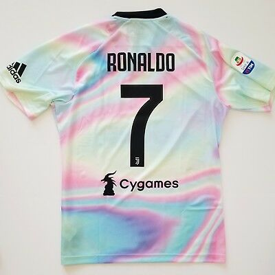 1e2cca8da RONALDO JUVENTUS sz LARGE LIMITED EDITION SHIRT JERSEY EA SPORTS 18-19 100%  REAL