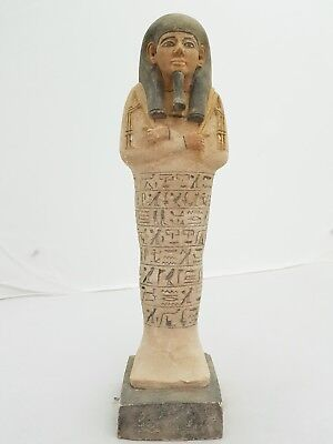 Ancient Egyptian Rare Antique Ushabti (Shabti) New Kingdom Pharaonic Statue Bc
