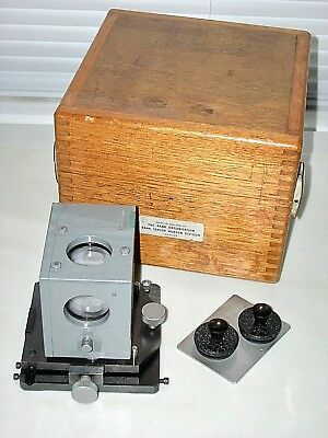 Taylor Hobson 112/803-52 precision Optical Square Penta Prism with 112/804 Mount