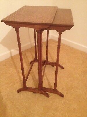 Antique side tables / nest of tables