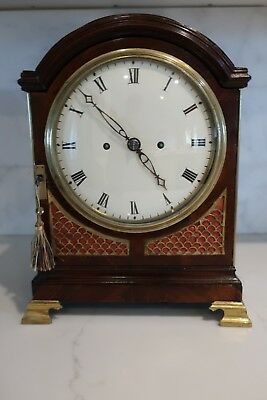 Twin Fusee Regency Bracket or Table clock c1810, Richard Reeves, London