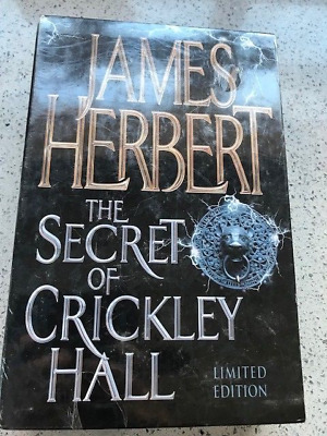 James Herbert Secret Of Crickley Hall - Signed First Edition Sealed & Wrapped