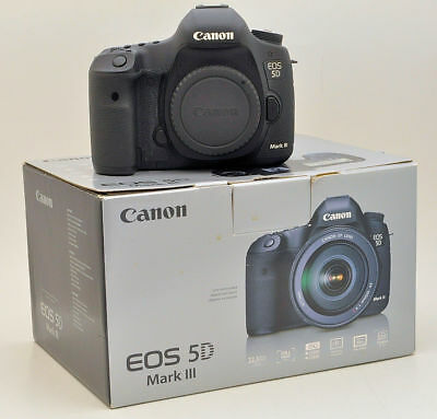 Canon EOS 5D Mark III 22.3MP Digital SLR Camera Body Only (LOW SHUTTER COUNT)