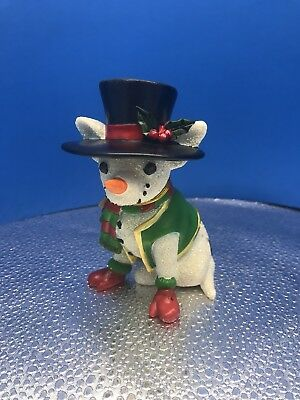 "New Aye Chihuahua ""Snow-huahua"" Resin Figurine By Westland Giftware No.13373"