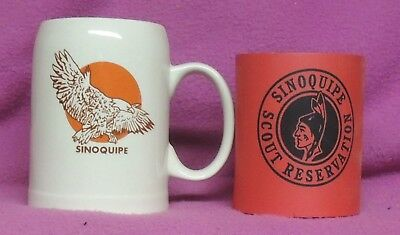 Sinoquipe Scout Reservation Mug Coolie Mason Dixon Council BSA Boy Scout