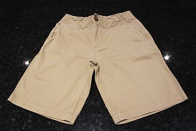 Used Lands' End Beige Shorts Age 10-11 Years UK
