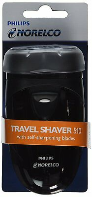 Philips Norelco Cordless Travel Electric Razor Battery Operated Rotary Blades