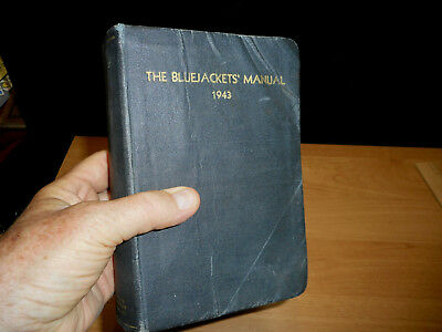 Vintage1943 The Bluejackets' Manual U S Navy Naval Institute 11th Edition VG