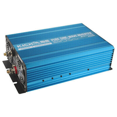 KICKASS 2000W Pure Sine Wave Power Inverter 12V to 240V AC Caravan Camping