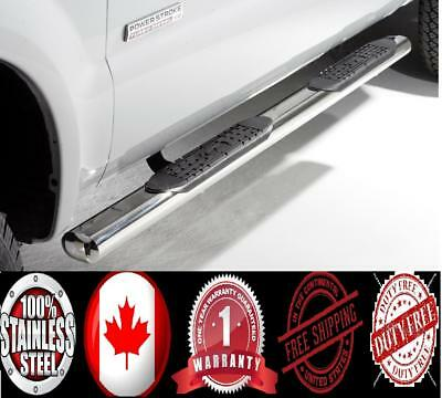 4in S/S Nerf Bars Fit 99-15 Ford F-250/F-350 SuperDuty Super Cab 14 13 12 11 10