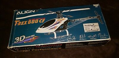 Align Trex 600 CF Electric COMBO RC 3D Helicopter ARF Trex600CF 700 500 450 HELI