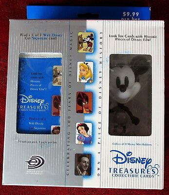 Disney Treasures In Box-Mickey Mouse Steamboat Willie/Mini-Bobber & Cards