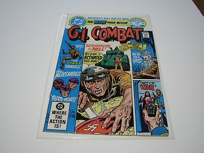 G.I. Combat #247 (Nov 1982, DC) Mercenaries and Haunted Tank Stories
