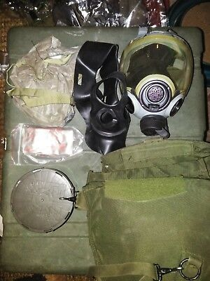 USGI Gas Mask MSA 5479 with canister filter