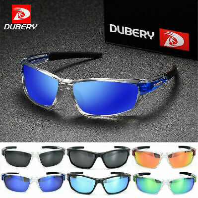 2019 DUBERY Mens Square Polarized Sunglasses Sport Outdoor Riding fishing New