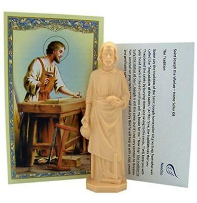 Trusted Saint Joseph The Worker Statue Home Seller Kit Religious Gifts that Work