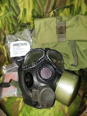 Military Army Field Gas Mask Chemical-Biological