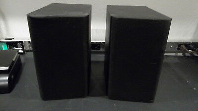 Miller Kreiesel Sound Mk S 85 Bookshelf Speakers Pair Black Satellite