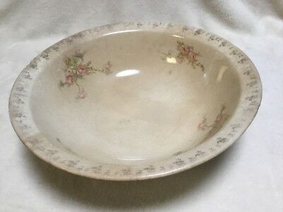 "Derwood W S George 129A Serving Bowl 10-3/4"" wide. Approx 75 Yrs Old"
