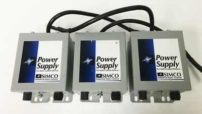 SIMCO Industrial Static Control Power Supply F 167 Power Unit 4000464 (C-1)