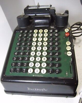 Vintage Burroughs Calculator