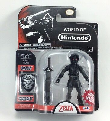World Of Nintendo The Legend Of Zelda Shadow Link Figure
