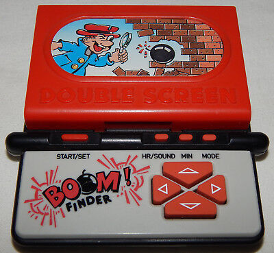 **vintage Dual Screen Bomb Finder Lcd Electronic Handheld Game By Systema**
