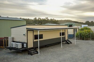 Transportable accommodation. 2 bedrooms, 2 bathroom and 2 kitchens
