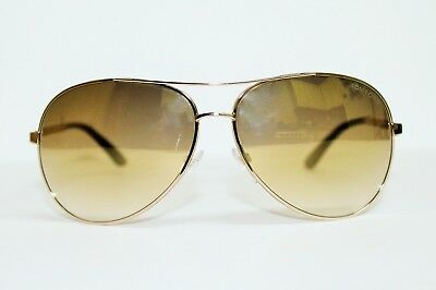 83b2f4508a4e88 Tom Ford Tf 35 28G Charles Rose Gold Brown Lens Authentic Sunglasses 62-12-