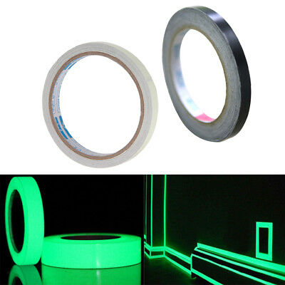Luminous Self-adhesive Safety Tape-3cmx3m+ Line Border Sticker 1cm X 50m