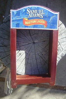 Samuel Adams Sam Adams Boston Lager Beer Table Stand, Tent, Picture Frame