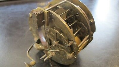 Antique Japy Freres Figural Mantle Clock movement - incomplete