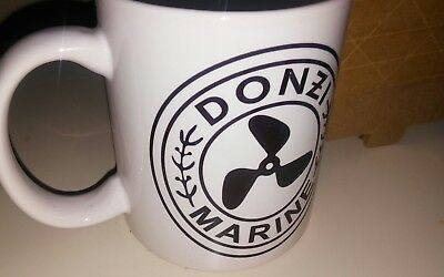 Nos (2) Rare Vintage Pair DONZI Offshore racing boat Coffee Mugs