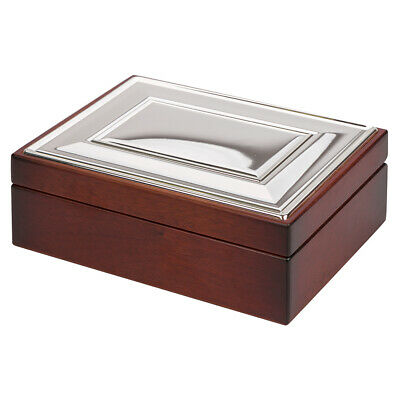NEW Whitehill Extra Large Plain Plate Jewellery Box