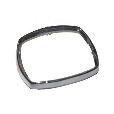 Headlight Headlamp Bezel Rim Alloy Polished Casting Lambretta Scooter CAD
