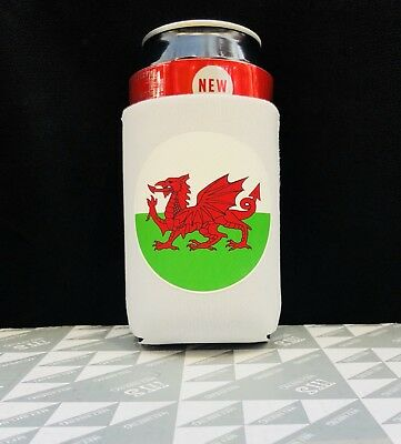 WALES Stubby Holder / Drink Cooler / Can Holder