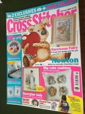 CrossStitcher Magazine February 2004