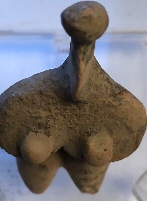 Tel Halaf Fertility Mother Goddess Terracotta Figure 5000 to 4000 BC with COA