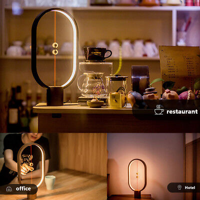 New Heng Balance Lamp - Ellipse Magnetic Mid-Air Switch USB Powered LED Lamp