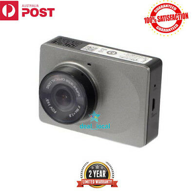 "Original Xiaomi Yi Full HD 1080P 2.7"" LCD Screen Car Dash Camera WiFi DVR Grey"