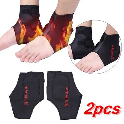 Self heating Health Care Foot Pad Brace Wrap Belt Ankle Support Protector