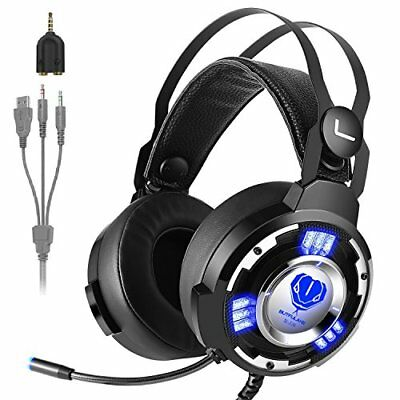 GUT: Gaming Kopfhörer Fxexblin Stereo Headset mit Mikrofon 3.5mm Surround Sound