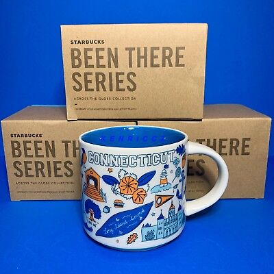 STARBUCKS City Mugs - CONNECTICUT - BEEN THERE SERIES - *NEW RELEASE* collection