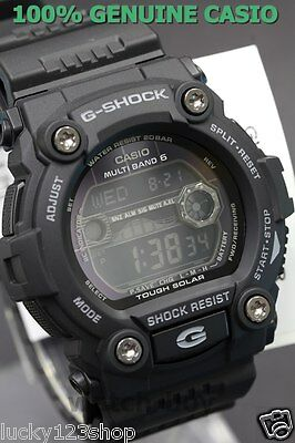 GW-7900B-1 Black Casio G-SHOCK 200M Sport Men's Watch Solar Sport alarms